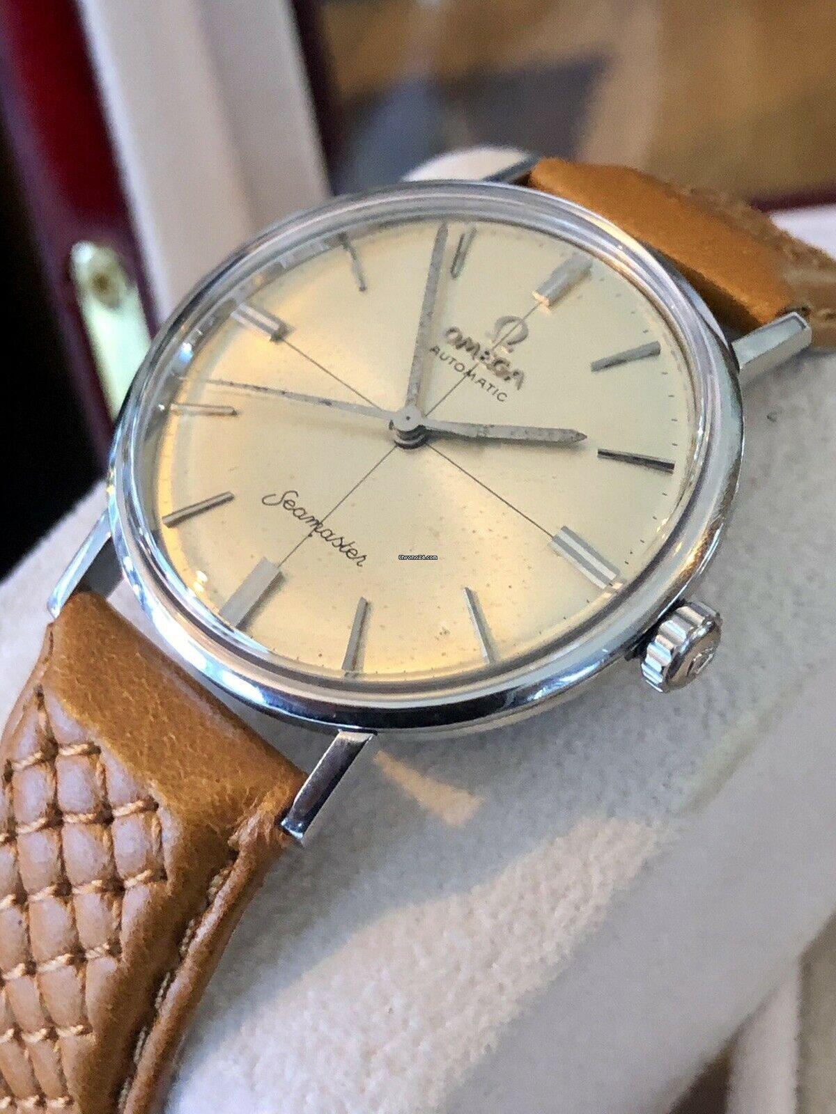 Omega Seamaster Crosshair 1960\u0027s vintage mens watch