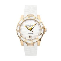 Ulysse Nardin Lady Diver Rose gold 40mm White No numerals