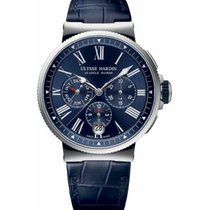 Ulysse Nardin 1533-150/43 Сталь 2020 Marine Chronograph 43mm новые