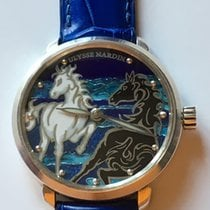 Ulysse Nardin Silver Manual winding Blue No numerals 43mm pre-owned
