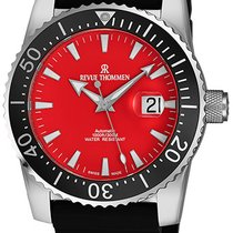 Revue Thommen Diver Staal Rood