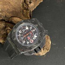 Audemars Piguet Royal Oak Offshore gebraucht 44mm Schwarz Chronograph Datum Kautschuk