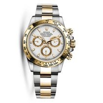 Rolex DAYTONA Steel & 18K Yellow Gold White Dial Watch 116503