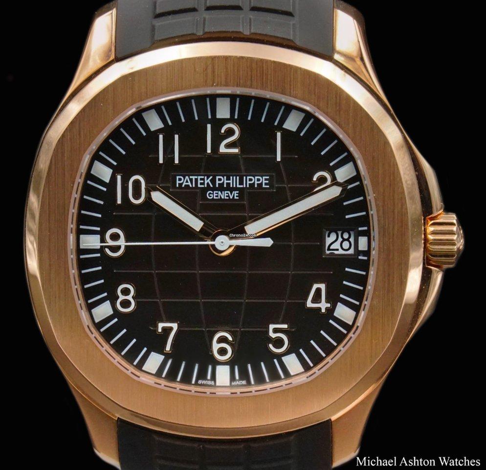 Patek Philippe Aquanaut Rose Gold All Prices For Patek Philippe