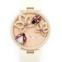 Cartier HP100481 Le Cirque Animalier Coccinelles in Rose Gold...