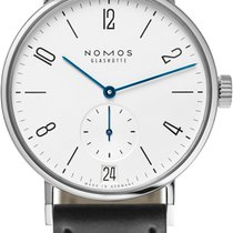 NOMOS Tangomat Datum Steel 38.3mm White United States of America, New York, Airmont