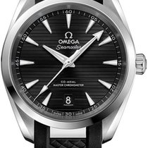 Omega Seamaster Aqua Terra Steel 38mm Black United States of America, New York, Airmont