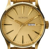 Nixon 42mm Quarz neu Gold