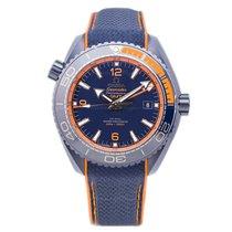 Omega Seamaster Planet Ocean Cerámica 45.5mm Azul