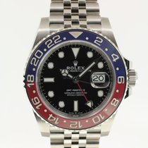 Rolex GMT-Master II BLRO Jubilee from 2018 complete with B + P