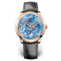 Girard Perregaux Rose gold 40mm Automatic 49534-52-r21-bb60 new