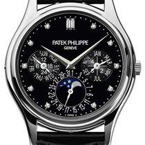 Patek Philippe Perpetual Calendar Platina 37.2mm Černá