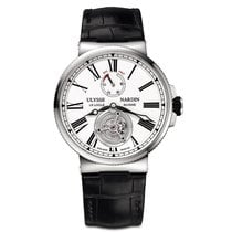 Ulysse Nardin Marine Tourbillon Steel 43mm White