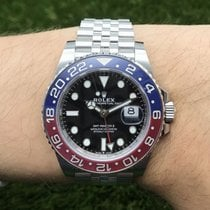 Rolex GMT-Master II Stahl 126710BLRO