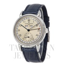 Vacheron Constantin Historiques Steel 40mm Silver Arabic numerals United States of America, New York, Hartsdale