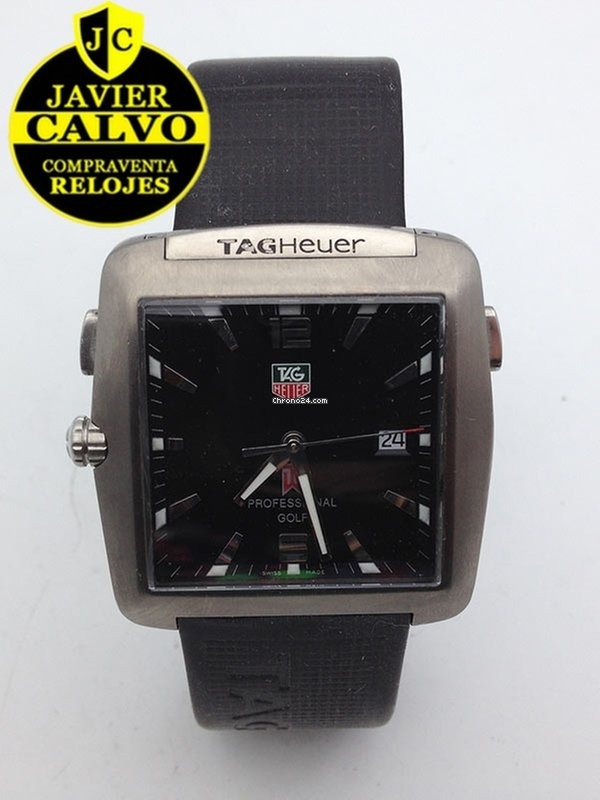 2761496bd959 TAG Heuer Professional Golf Tiger Woods Limited Edition en venta por 600 €  por parte de un Trusted Seller de Chrono24