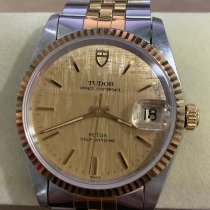 Tudor 34mm Automatic pre-owned Prince Oysterdate Gold