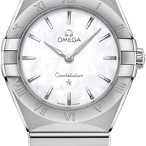 Omega Constellation Quartz Steel 28mm Mother of pearl United States of America, New York, Airmont