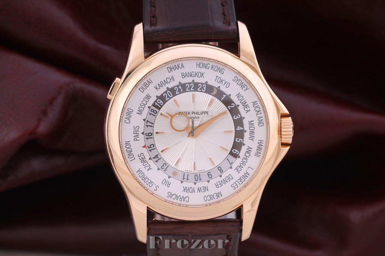 5ba700af129 Patek Philippe World Time - Todos os preços de relógios Patek Philippe World  Time na Chrono24