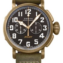 Zenith Automatic Black 45mm new Pilot Type 20 Extra Special