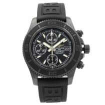 Breitling Superocean pre-owned 48mm Black Fold clasp