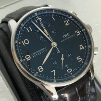 IWC Portuguese Chronograph IW371438 2010 pre-owned