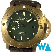Panerai Special Editions Bronze 47mm Green No numerals