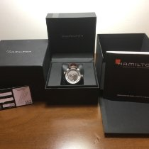 Hamilton Jazzmaster GMT Auto Steel 42mm Brown