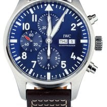 IWC IW377714 Steel Pilot Chronograph 43mm pre-owned United States of America, Illinois, BUFFALO GROVE