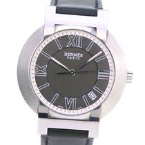 Hermès Nomade Stahl 42.5mm Grau