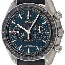 Omega Speedmaster Professional Moonwatch Moonphase Сталь 44mm Синий