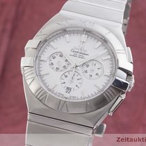 Omega Constellation Double Eagle Acier 43.5mm Blanc
