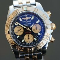 Breitling Chronomat 41 Gold/Steel 41mm Black