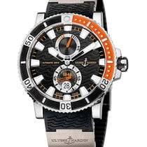 Ulysse Nardin pre-owned Automatic 45mm Black Sapphire crystal 20 ATM