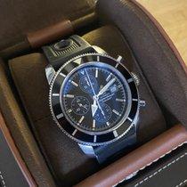 Breitling Superocean Héritage Chronograph Acier 46mm Noir Sans chiffres France, Paris