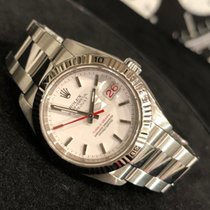 Rolex Datejust Turn-O-Graph Steel 36mm White No numerals
