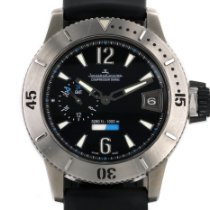 Jaeger-LeCoultre Master Compressor Diving GMT Titane 44mm Noir Arabes