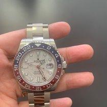 Rolex GMT-Master II 126719BLRO Nou Aur alb 40mm Atomat