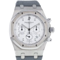 Audemars Piguet Or blanc Remontage automatique 39mm occasion Royal Oak Chronograph