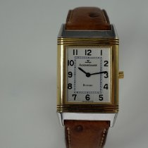 Jaeger-LeCoultre Reverso Classique Gold/Steel 23mm Silver Arabic numerals United States of America, Texas, Houston