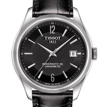 Tissot Ballade Powermatic 80 COSC Steel 41mm Black Arabic numerals