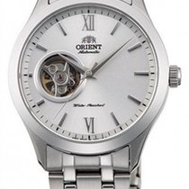 Orient Steel 38.5mm AG03001W new