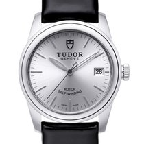 Tudor Steel Automatic Silver 36mm new Glamour Date