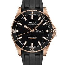 Mido Ocean Star Captain V Black Rubber