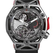 Hublot Big Bang Techframe Ferrari Tourbillon Chronograph...
