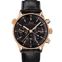 Sinn Rose gold Automatic Black Arabic numerals 38,5mm new 6000