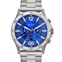 York Men's 43A116 Stainless Steel Bracelet Chronograph Watch