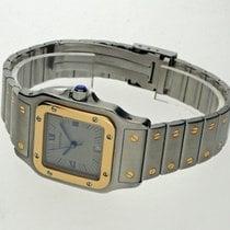 Cartier Santos (submodel) gebraucht 29mm Gold/Stahl