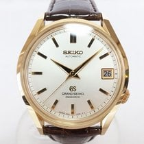 Seiko Yellow gold Automatic 37mm pre-owned Grand Seiko