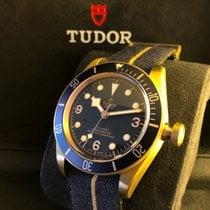 帝陀 Heritage Black Bay Bronze Bucherer Blue Limited Edition